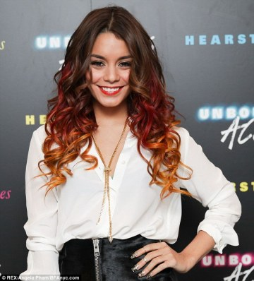 vanessa hudgens hair color