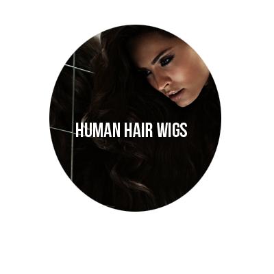 realistic 100% human hair wigs